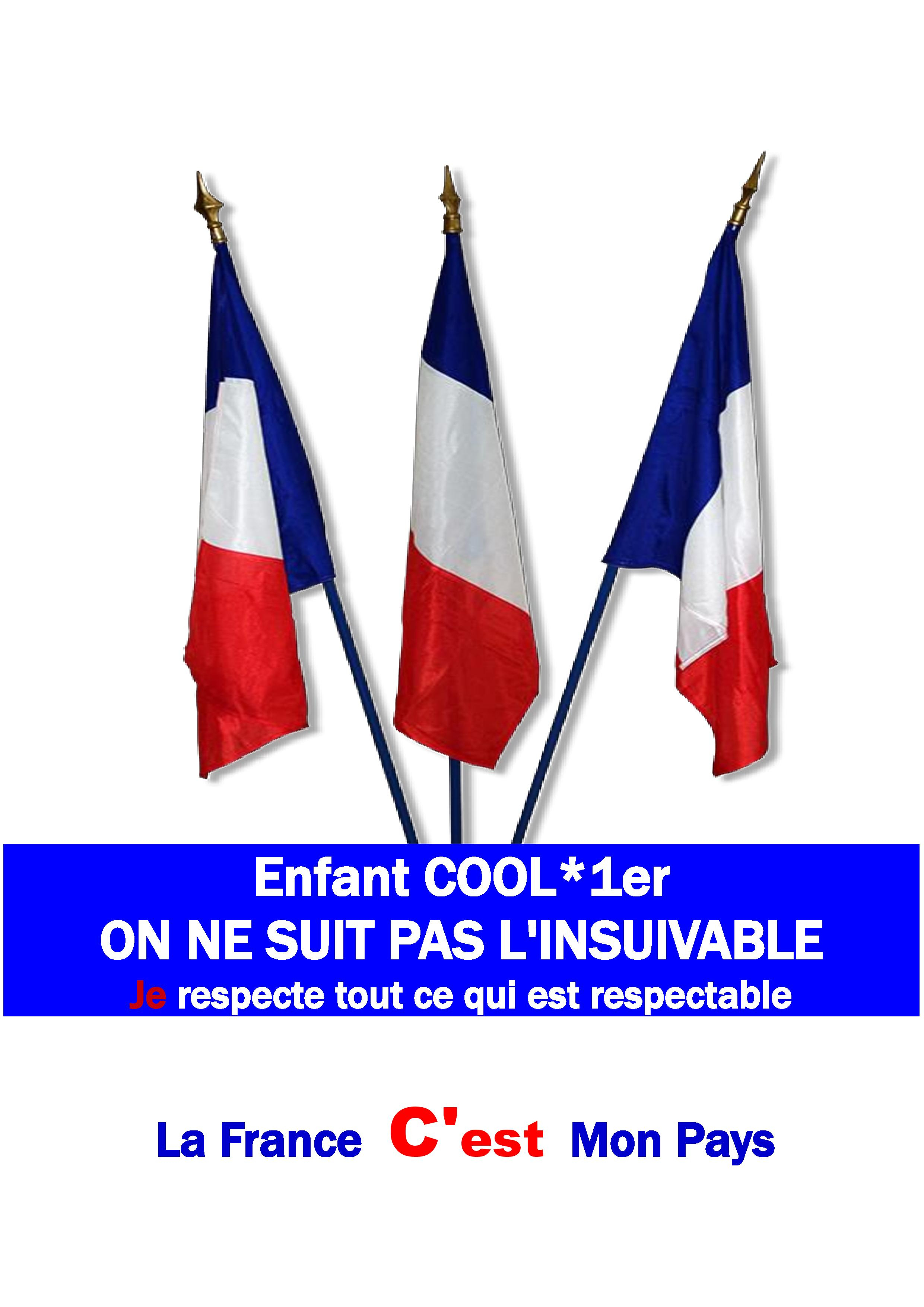 ENFANT COOL 1ER - ON NE SUIT PAS L'INSUIVABLE