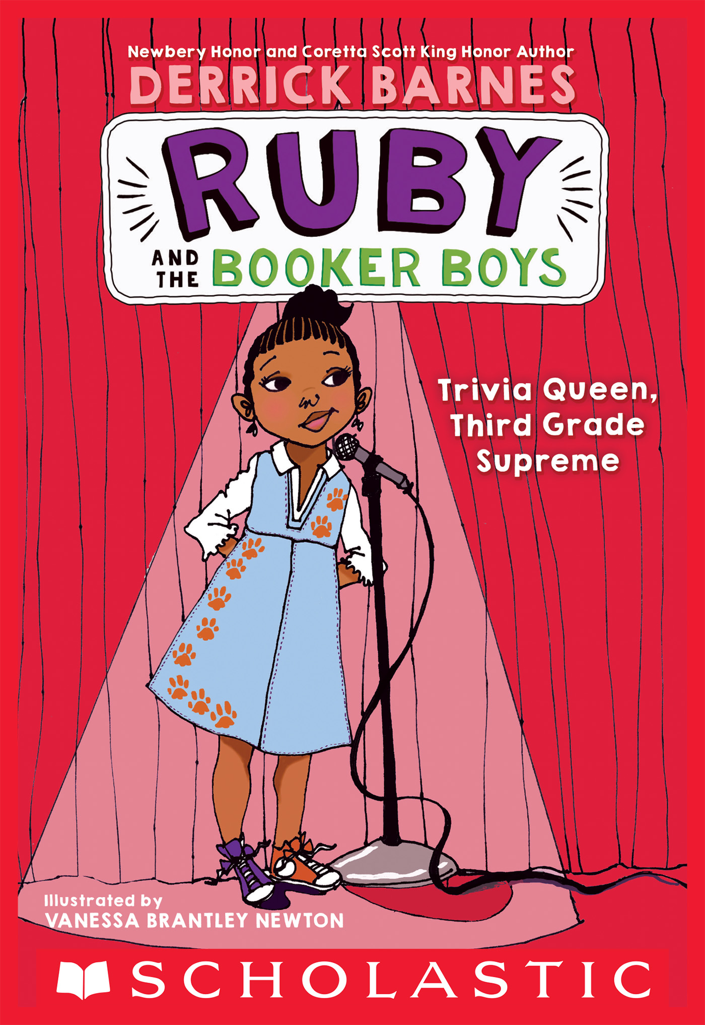 Trivia Queen, Third Grade Supreme (Ruby and the Booker Boys #2)