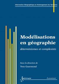 Modélisations en géographie...