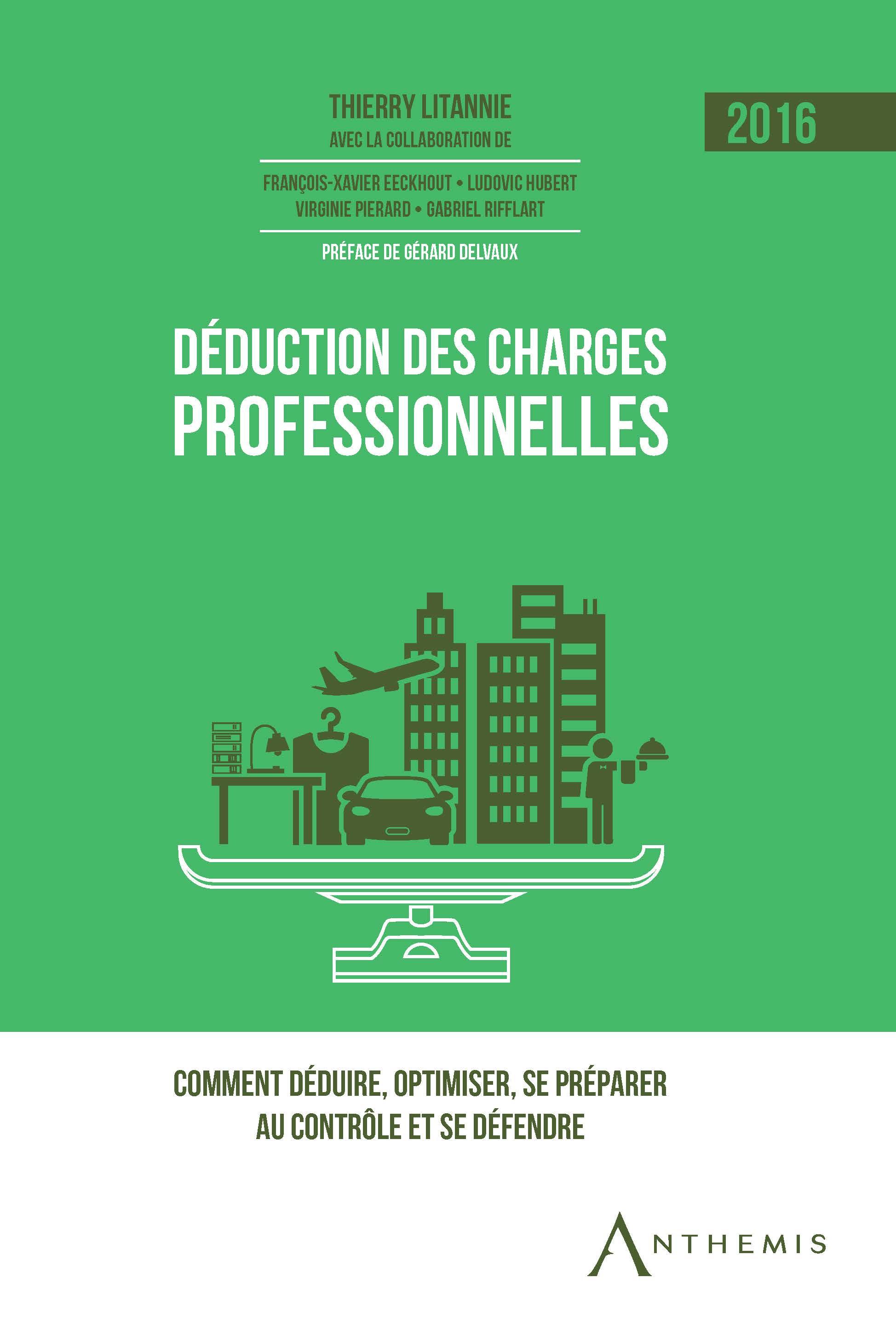 Déduction des charges professionnelles - 2016