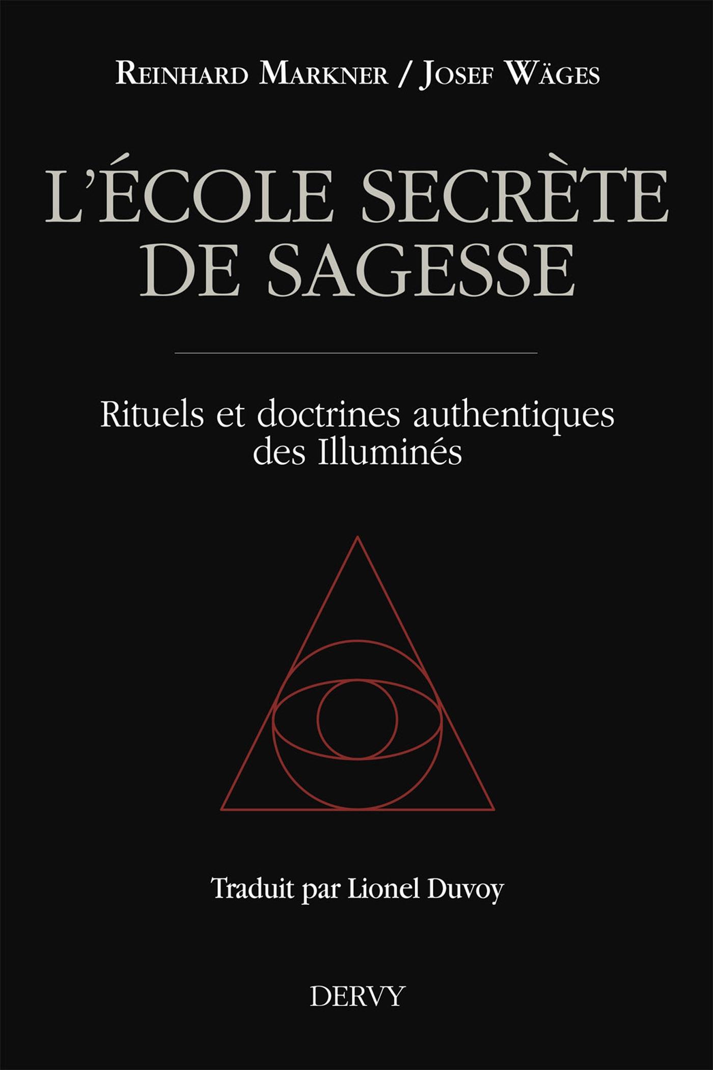 L'école secrète de sagesse