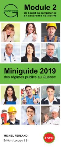 Miniguide 2019 des régimes publics au Québec