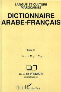 Dictionnaire arabe-français