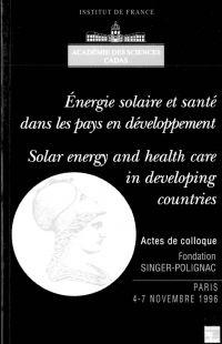 Energie solaire et santé da...