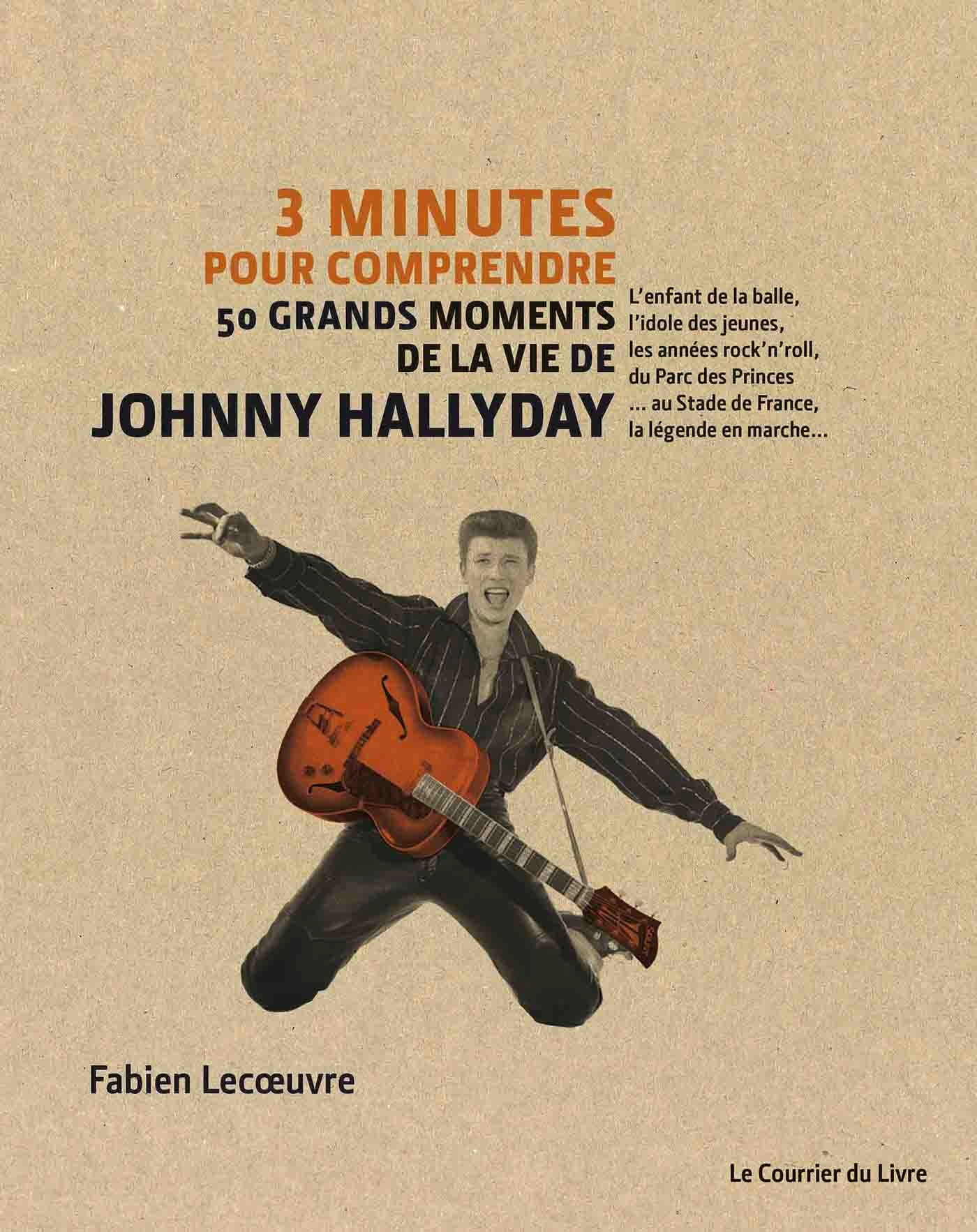 3 minutes pour comprendre 50 grands moments de la vie de Johnny Hallyday