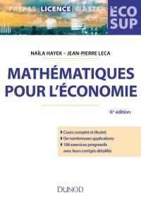Mathématiques pour l'économie - 6e éd.