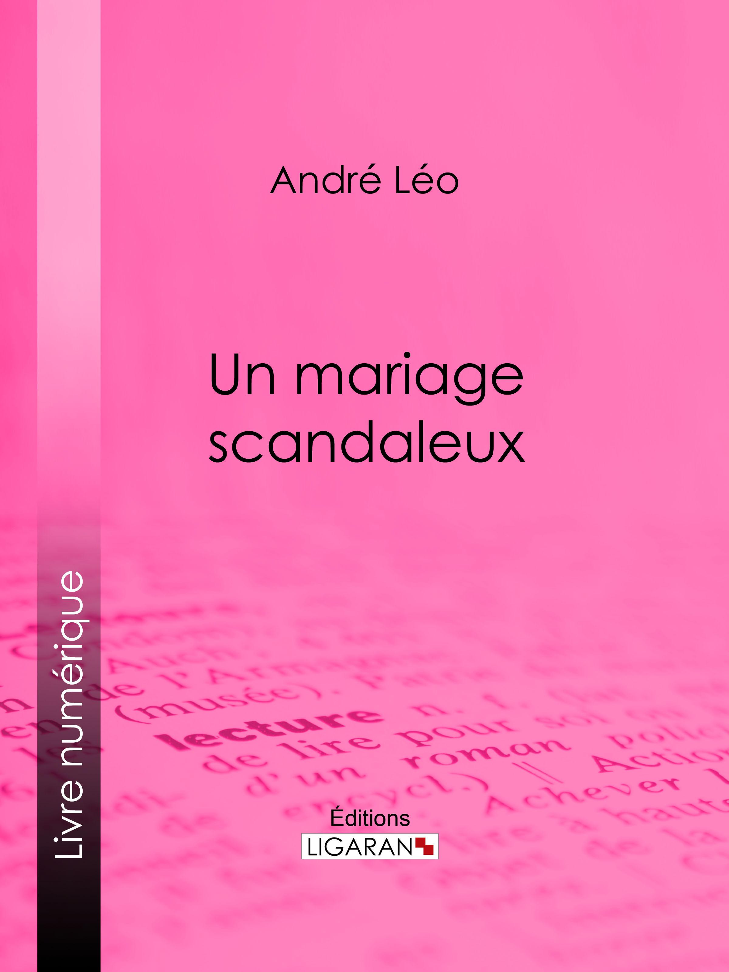 Un mariage scandaleux