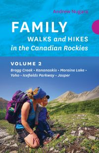 Cover image (Family Walks and Hikes in the Canadian Rockies – Volume 2)