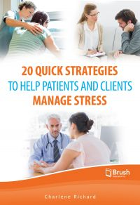 Image de couverture (20 Quick Strategies to Help Patients and Clients Manage Stress)