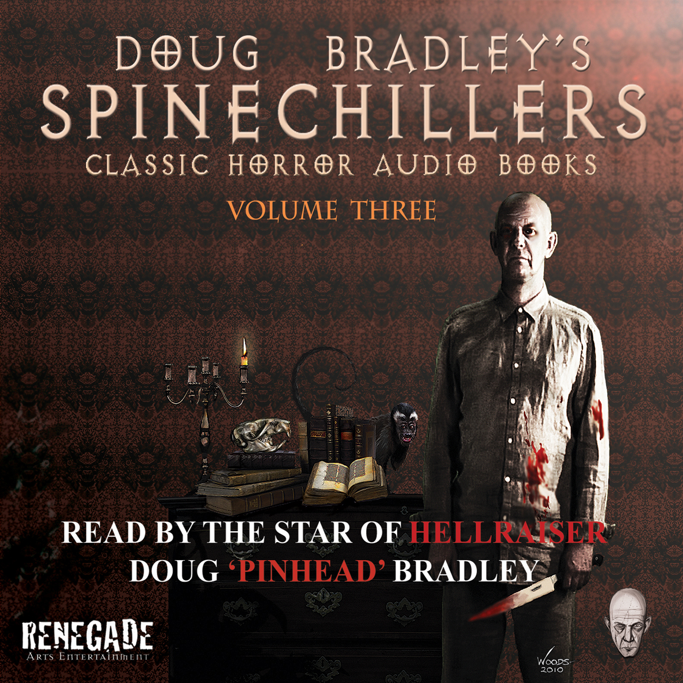 Doug Bradley's Spinechillers Volume Three