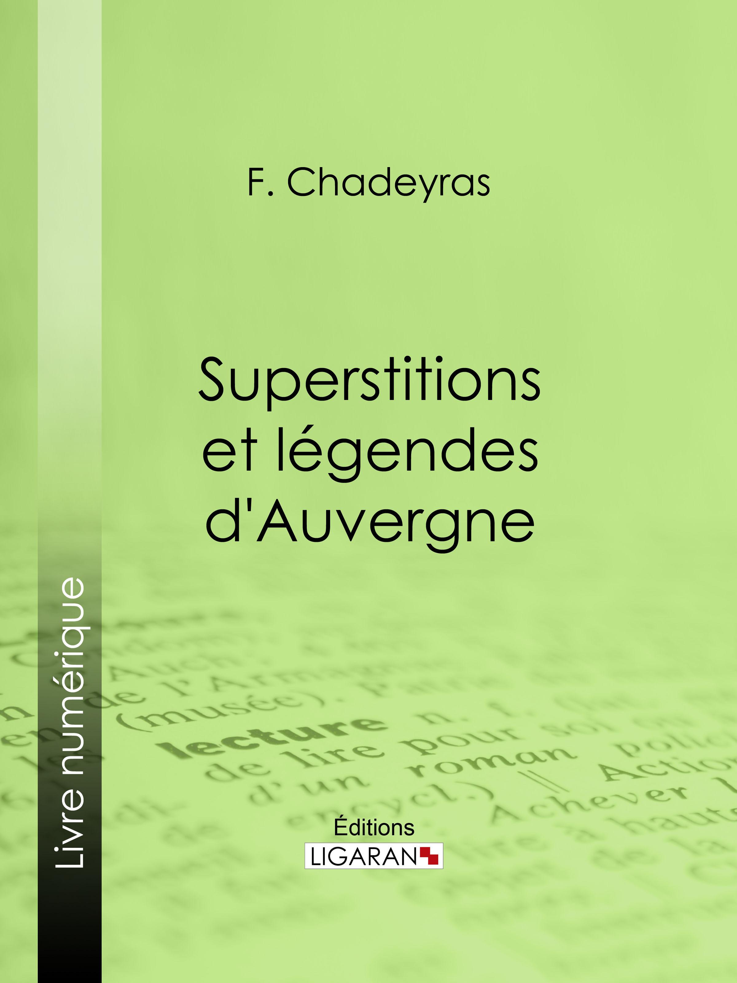 Superstitions et légendes d'Auvergne