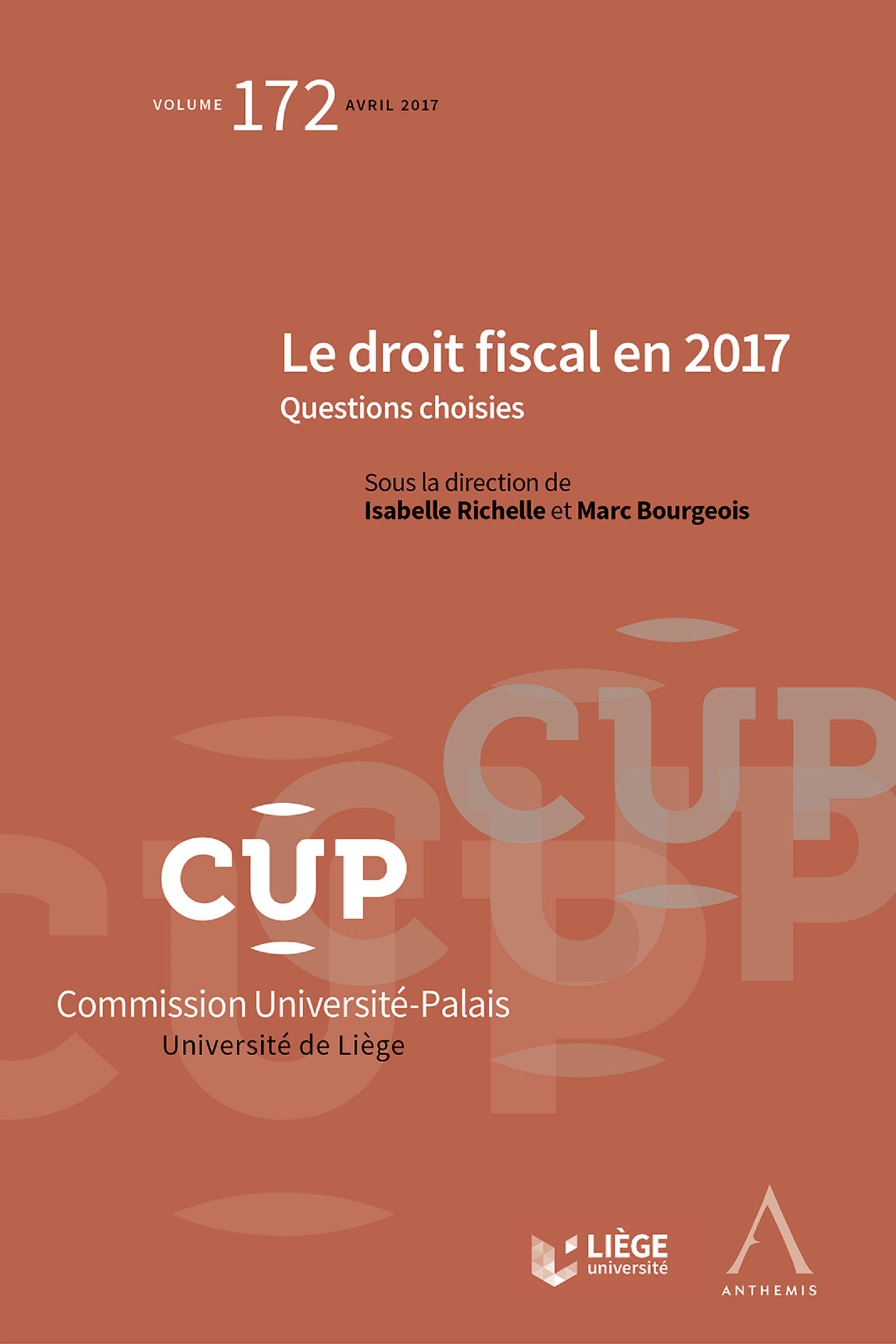 Le droit fiscal en 2017