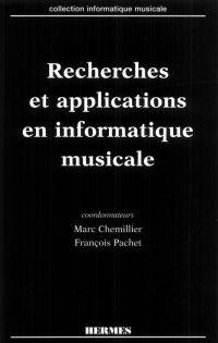 Recherches et applications ...