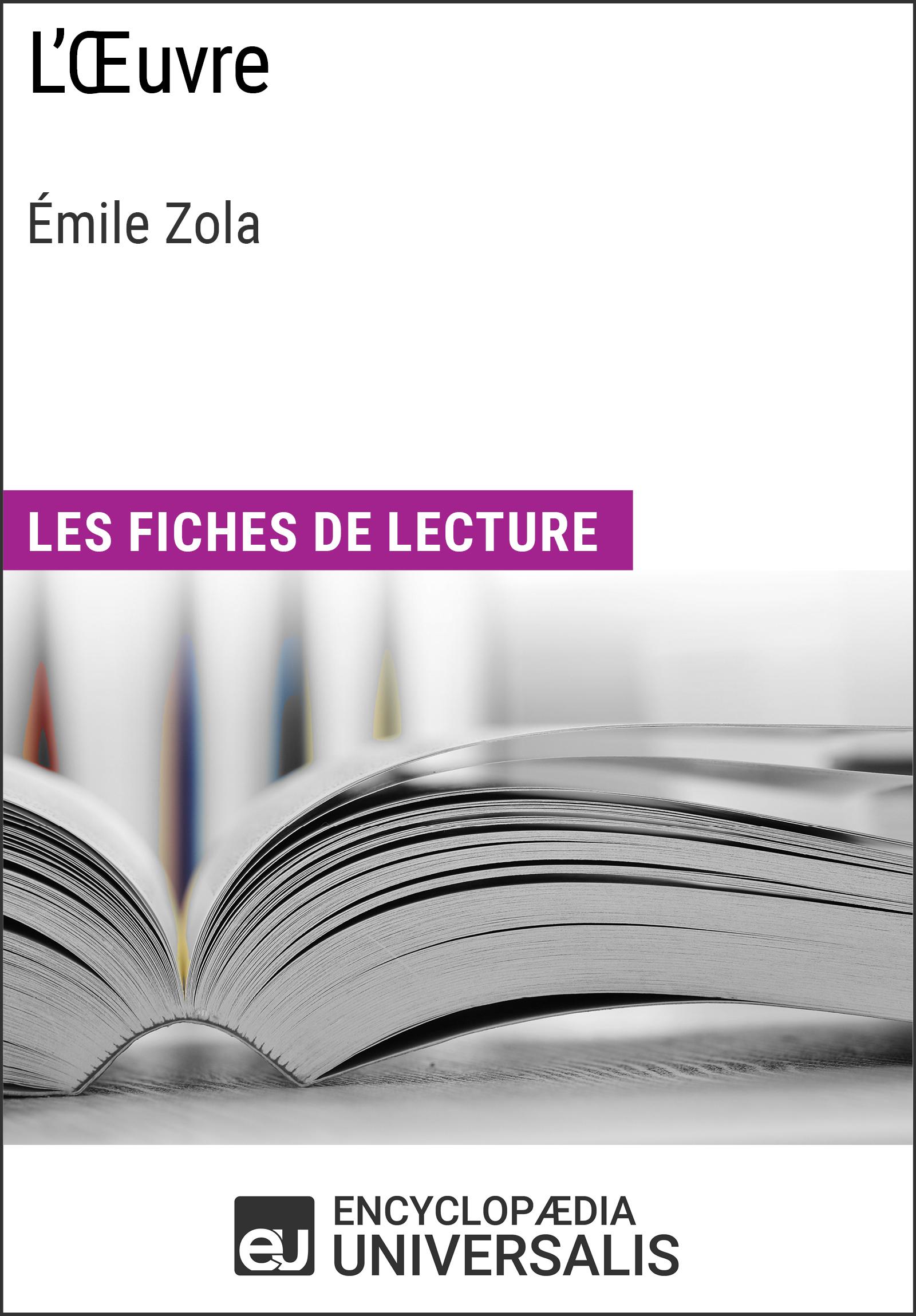 L'Oeuvre d'Émile Zola