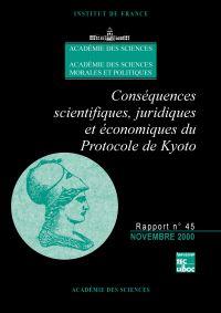 Conséquences scientifiques,...