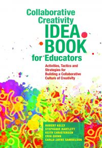 Cover image (Collaborative Creativity Idea Book for Educators)