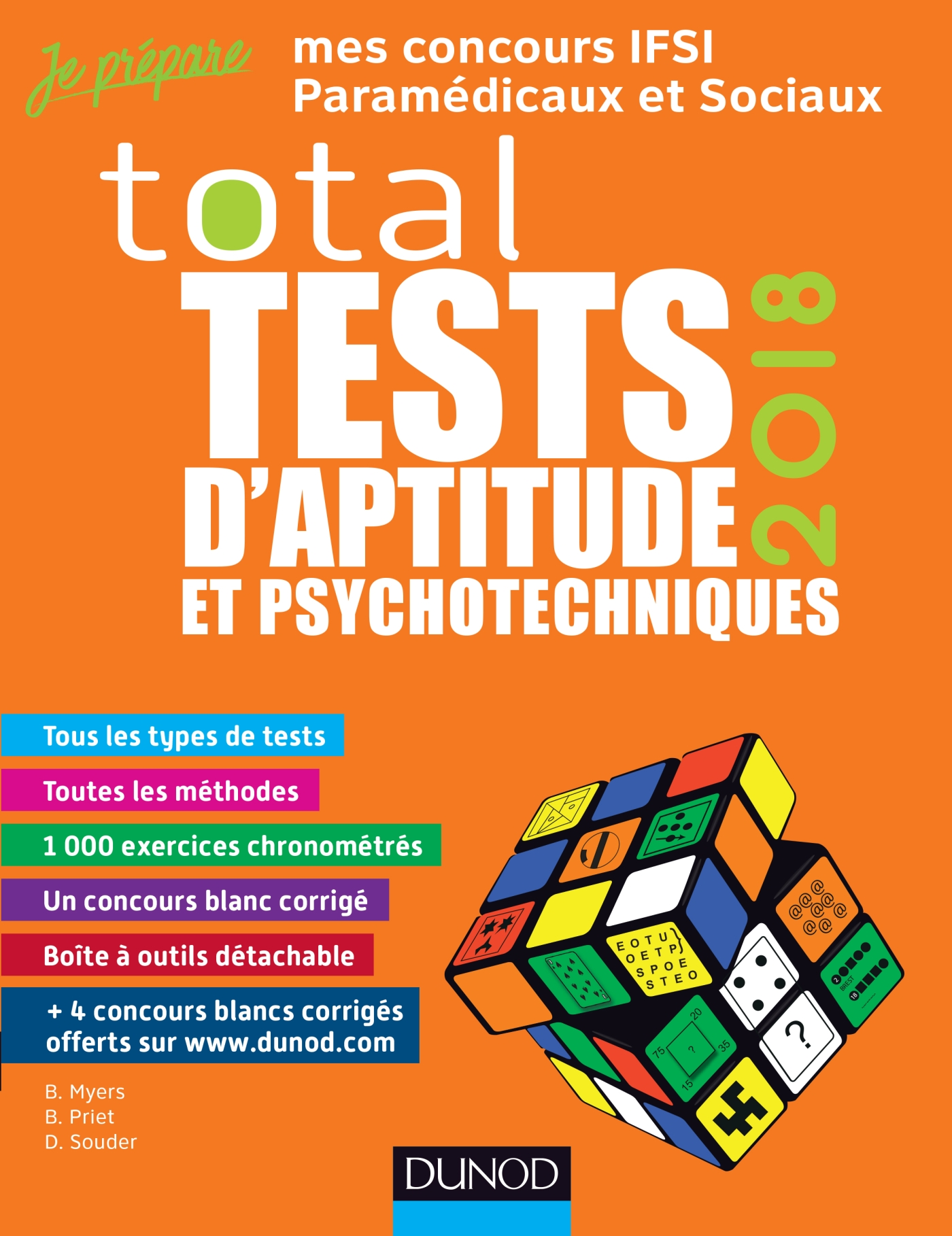 TOTAL Tests d'aptitude et psychotechniques - 2018