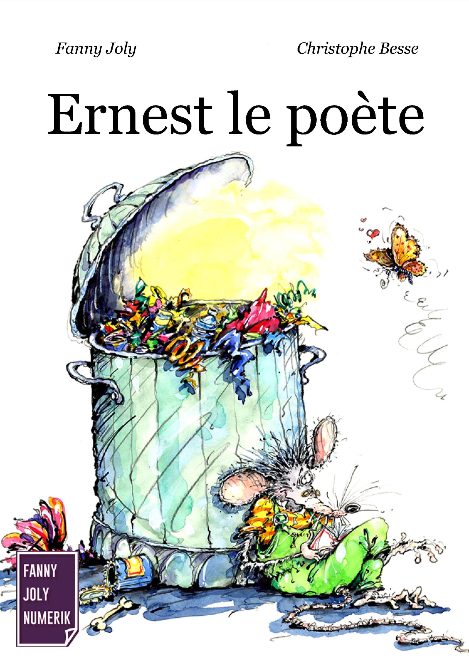 Ernest le poète, Un livre illustré à découvrir dès 3 ans