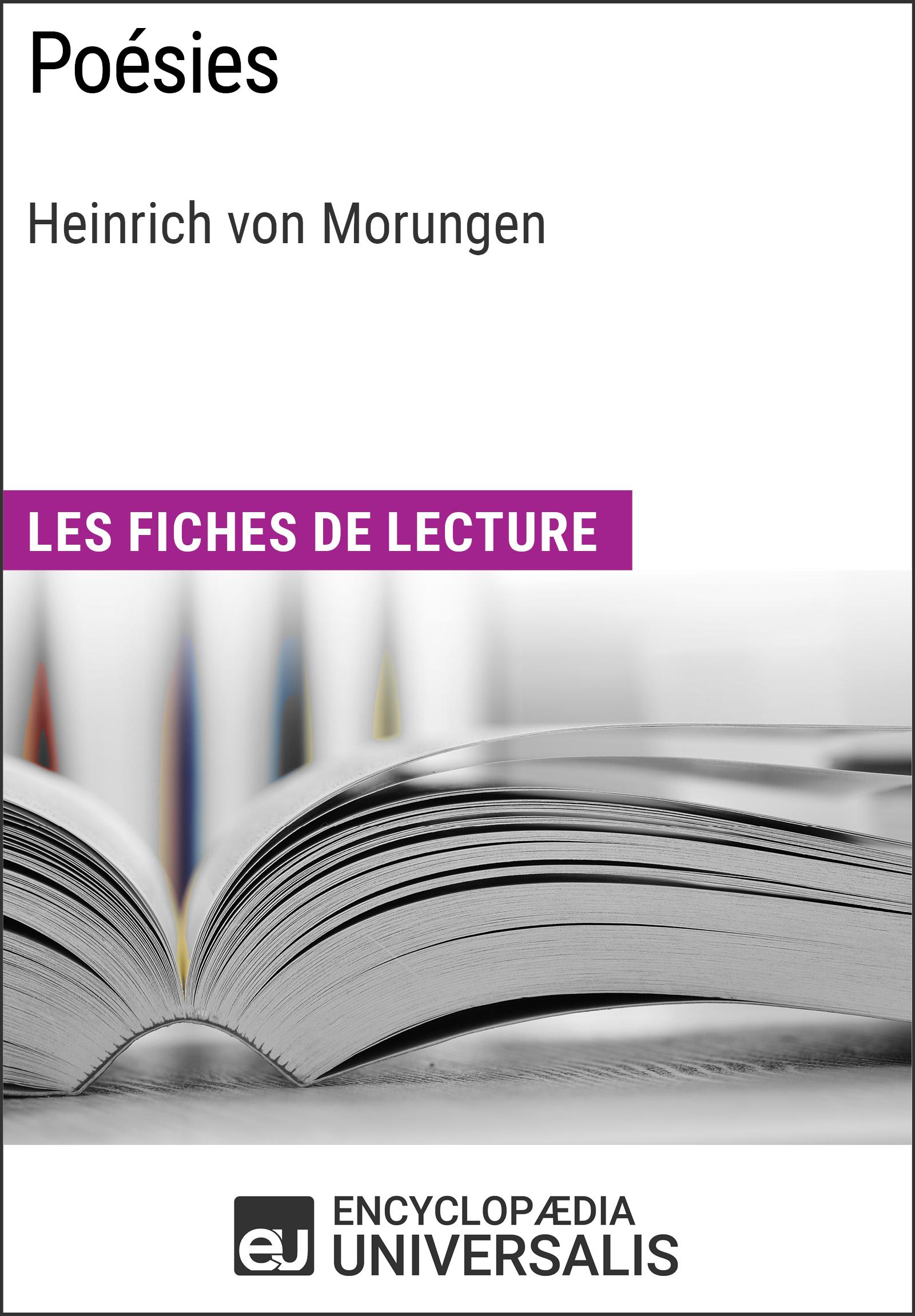 Poésies de Heinrich von Morungen