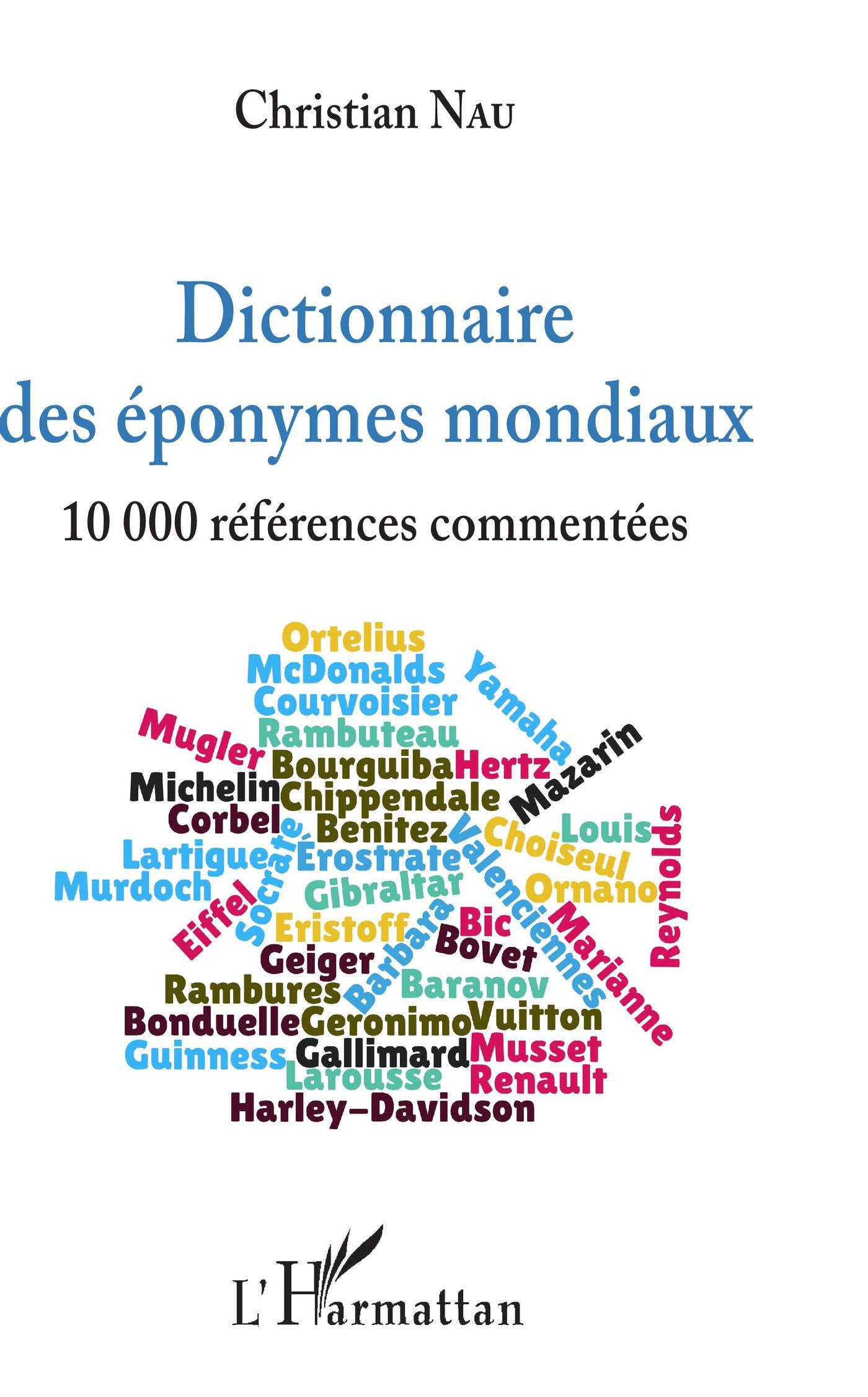 Dictionnaire des éponymes mondiaux