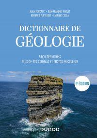 Image de couverture (Dictionnaire de Géologie - 9e éd.)