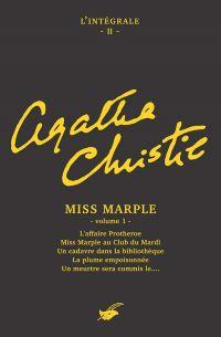 Intégrale Miss Marple - volume 1