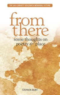 Image de couverture (From There: Some Thoughts on Poetry & Place)