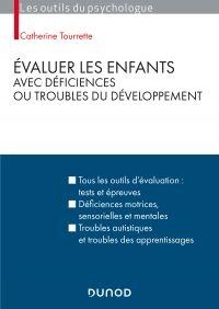 Cover image (Évaluer les enfants avec déficiences ou troubles du développement - 2e éd.)