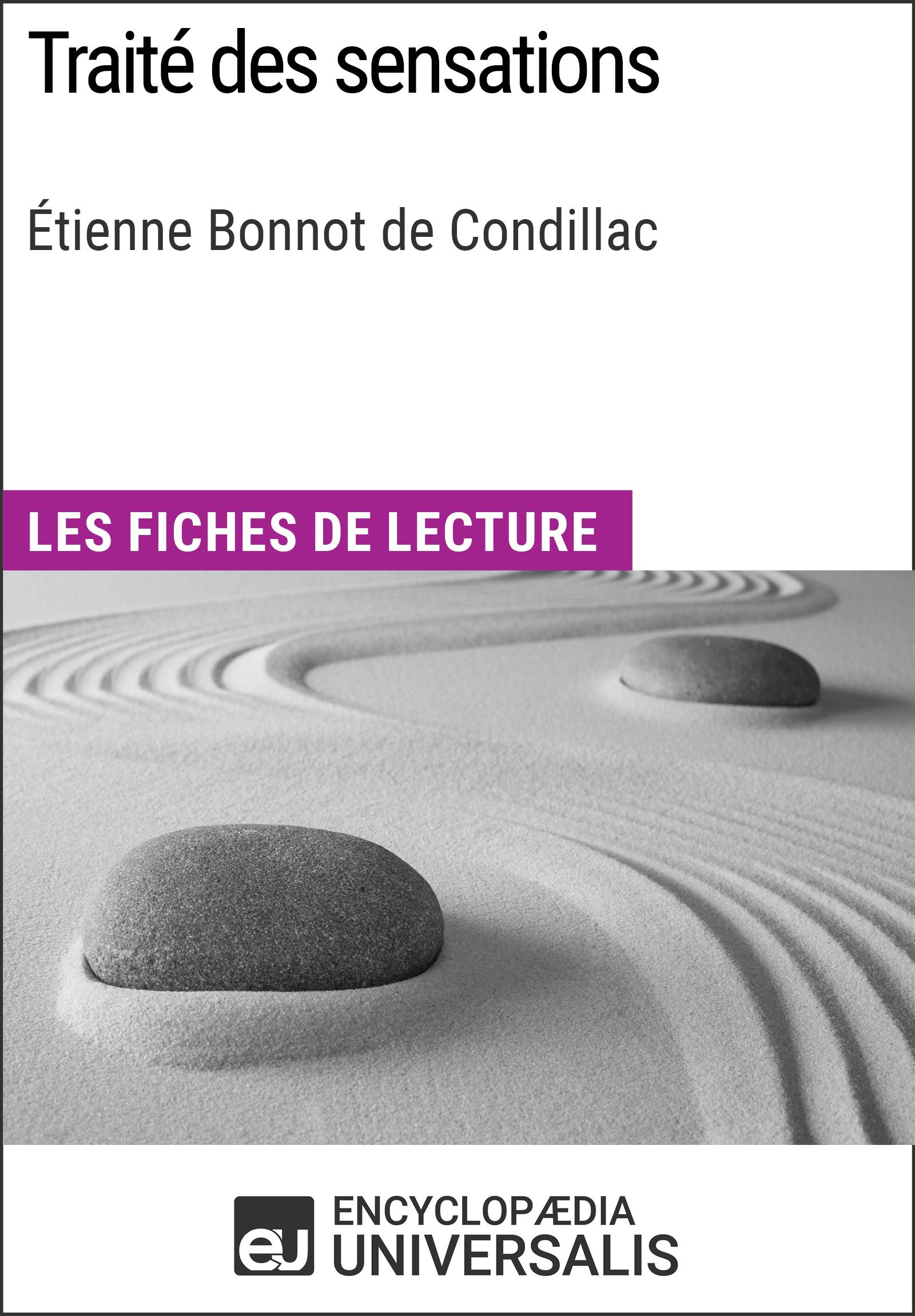 Traité des sensations d'Étienne Bonnot de Condillac