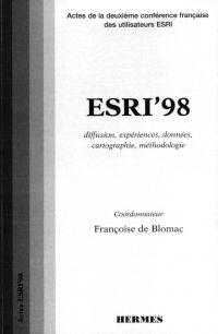 ESRI 98 : diffusion, expéri...