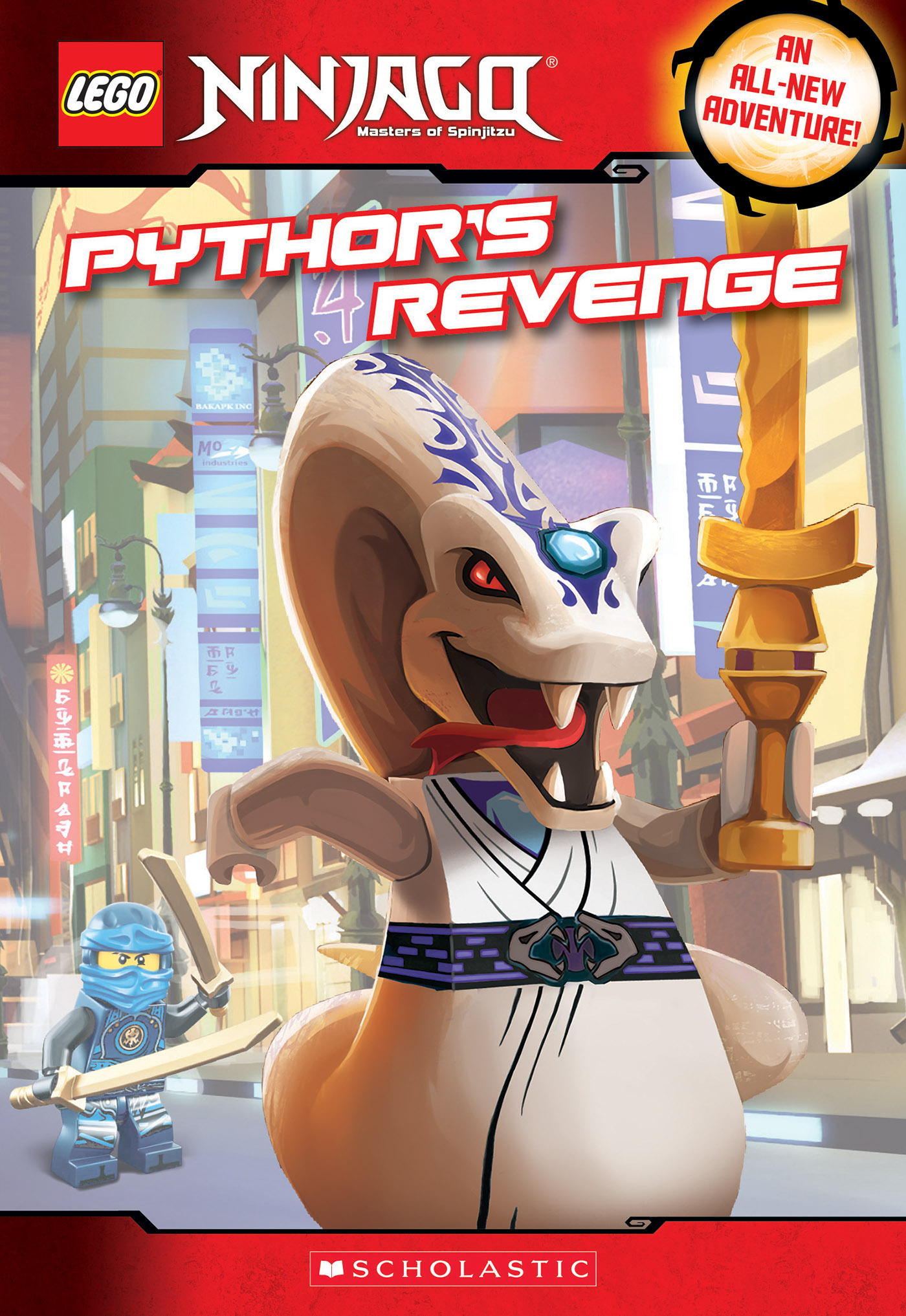 Pythor's Revenge (LEGO NINJAGO: Chapter Book)