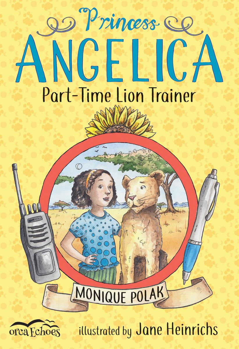 Princess Angelica, Part-time Lion Trainer