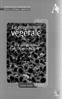 La production végétale Volu...