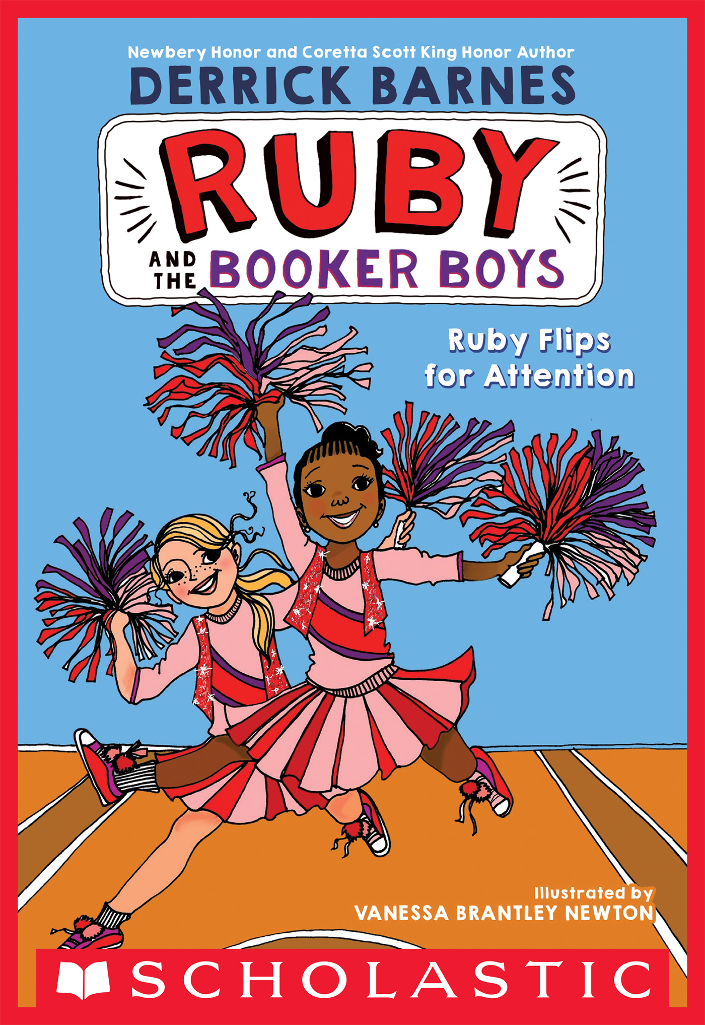 Ruby Flips for Attention (Ruby and the Booker Boys #4)