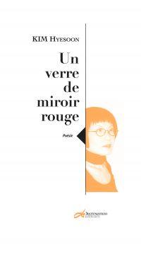 Un verre de miroir rouge