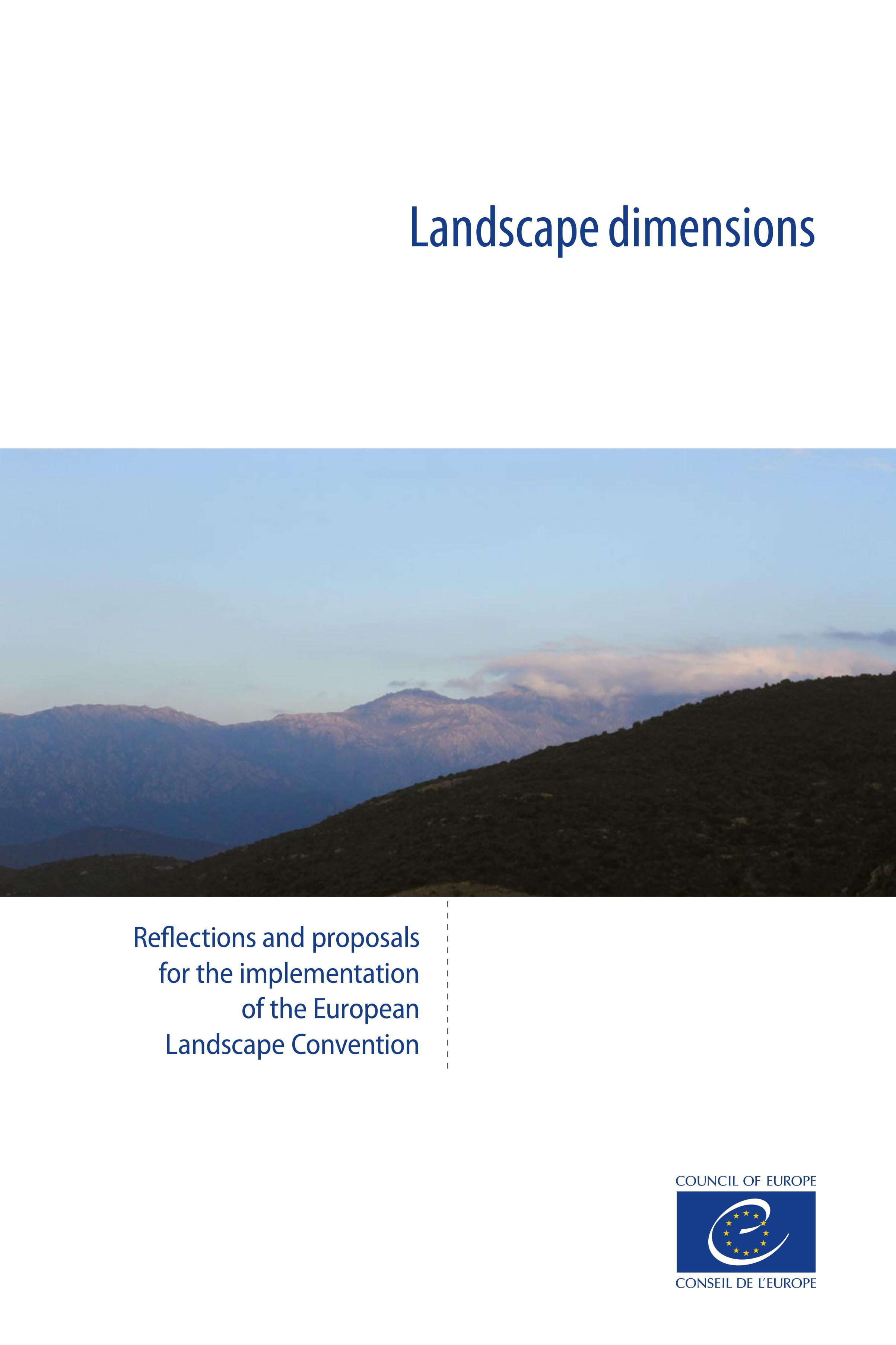 Landscape dimensions