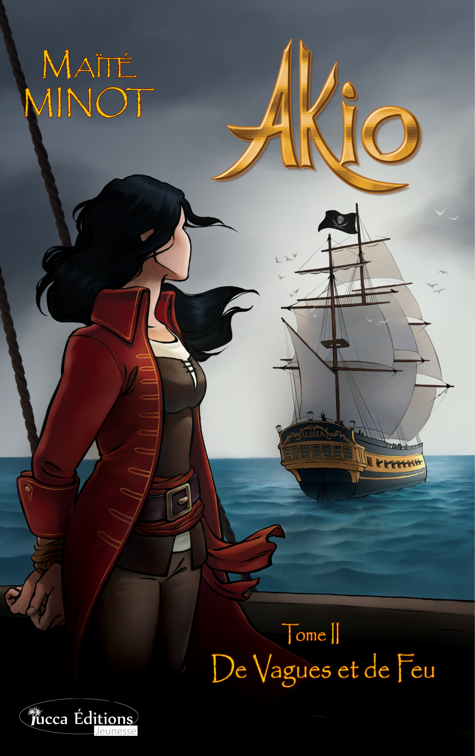 De Vagues et de Feu, Saga d'aventures fantasy