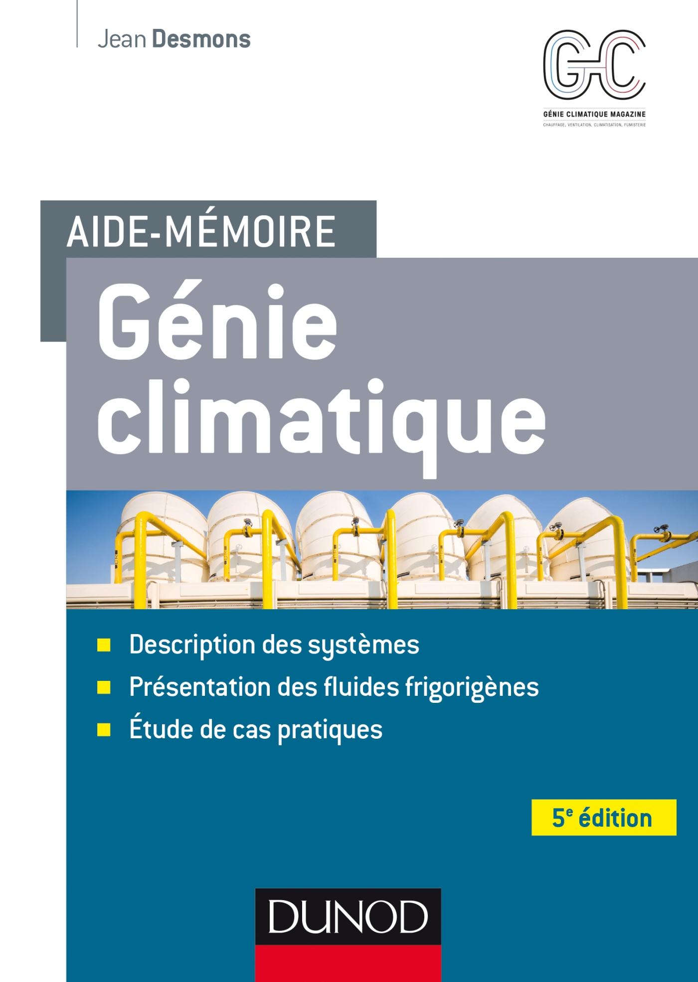 Aide-mémoire - Génie climatique - 5e éd.