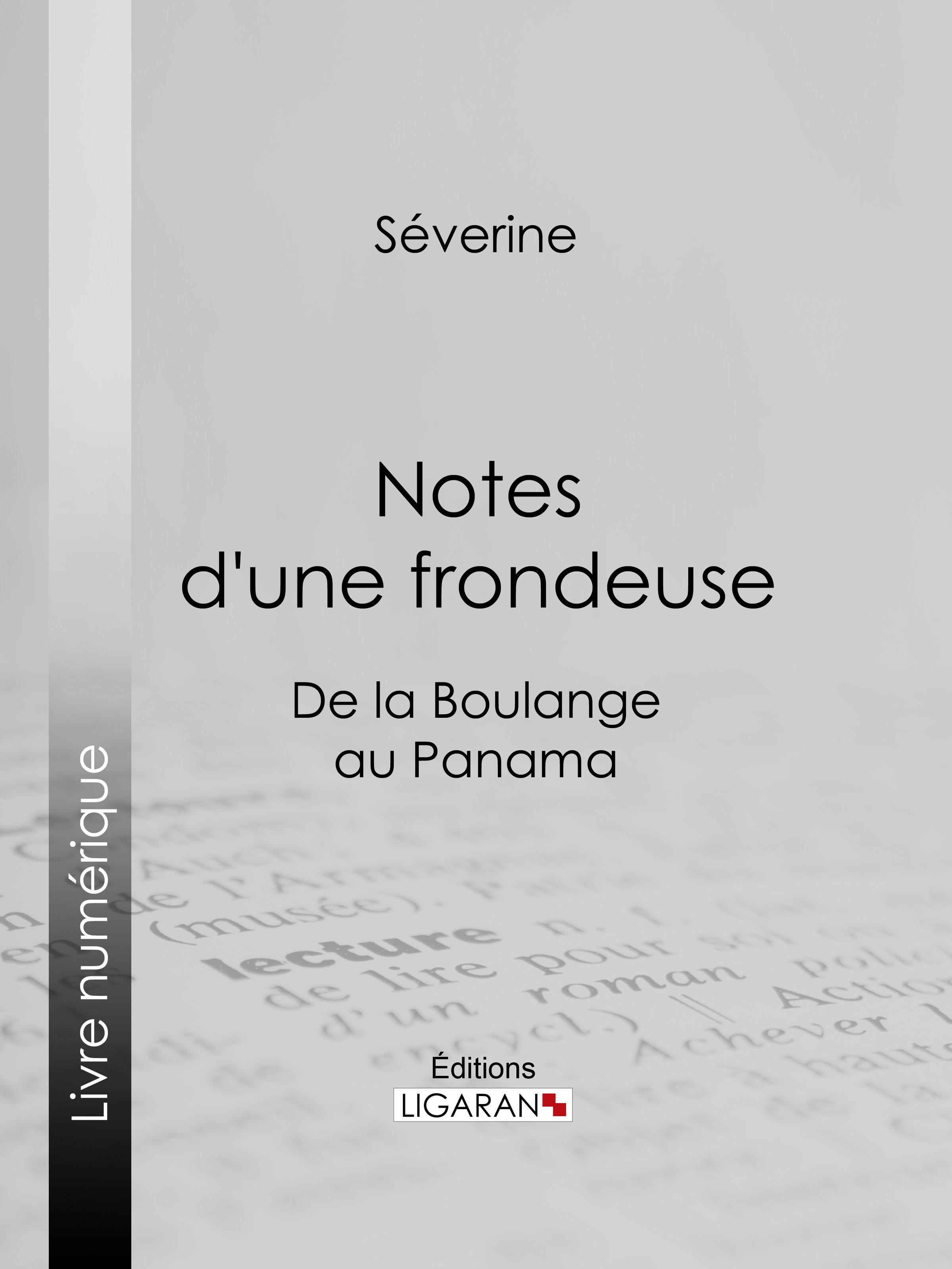 Notes d'une frondeuse