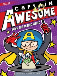 Image de couverture (Captain Awesome Says the Magic Word)