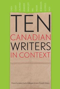 Cover image (Ten Canadian Writers in Context)