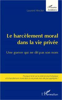 Harcèlement moral dans la vie privée