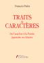 Traits de caractères – Du Caractère à la Pensée japonaise ou chinoise