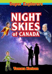 Cover image (Night Skies of Canada)