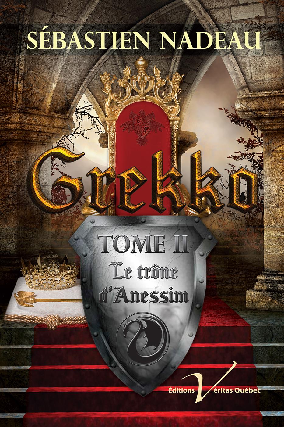 Grekko, tome 2 : Le trône d...